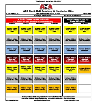 8-12-20 class schedule small